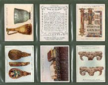 Tobacco cigarette cards Treasures of Britain 1931 set